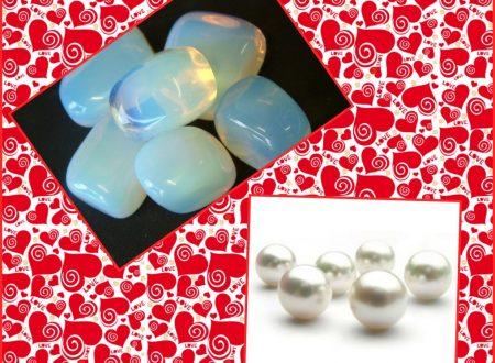 Le pietre di Luglio : perla e pietra di luna